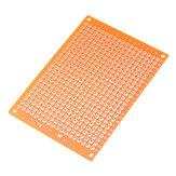 Faça você mesmo 5x7 papel protótipo PCB placa de circuito de matriz de experiência universal