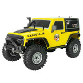 RGT EX86010-JK 1/10 4WD 2.4G 4x4 Off-road RC Car Waterproof Truck RTR Modelli di veicoli