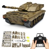 Henglong 3908-1 1/16 2.4G Fumantes British Challenger 2II RC Car Battle Tank Metal Gearbox Toys