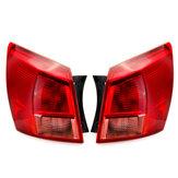 Feu arrière arrière de voiture rouge gauche / droite sans câblage pour ampoule pour Nissan Qashqai 2007-2010