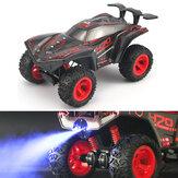 HR 1/12 2.4G 4CH Crawler Off Road RC Auto Voertuigmodellen W / Spay Light Toy