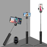 Bakeey P9 bluetooth Mini Expandable Selfie Sticks Live Stream Holder Shrink Tripod Stand Monopod Self-Timer for iPhone IOS Android