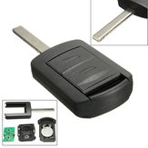 New Replacement 2 Button 433Mhz Remote Key Fob voor Vauxhall Corsa C Combo Meriva