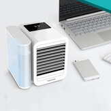 [Versi Upgrade] Microhoo 3 in 1 Desktop Air Conditioner dari Xiaomi Eco-system Kipas Pendingin Humidifikasi 7 Warna Cahaya Penyesuaian Kecerahan Stepless