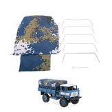 Canvas Truck Hood Cover Cloth for WPL B-24 B-16 1/16 Military Truck Rock Crawler Rc Car Parts