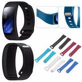 Einstellbares Silikon-Ersatzuhrband Band für Samsung Gear Fit 2