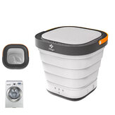 MOYU 220V Travel Portable Mini Folding Wash Machine Automatic Washing Bucket Small Household Underwear Clothes Washer Dryer Laundry for Business Self-Driving Tour from Xiaomi Eco-system