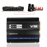 3800 W RMS 4 Kanaals 4 Ohm Krachtige Car Audio Power Stereo Versterker Amp