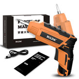 HILDA 4.2V Cordless Electric Screwdriver Lithium Battery Screwdriver with Twistable Handle