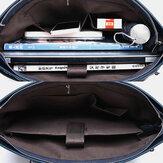 Men Oxford Multi-pocket 14 Inch Laptop Bag Briefcase Bag Shoulder Bag Crossbody Bag Handbag
