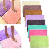 80x50cm absrobent peluda alfombra casa antideslizante dormitorio alfombra alfombra de suave