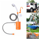 IPRee® Outdoor Electric Shower Nozzle Zraszacz Samozasysająca pompa wodna USB Charge Car Clean Camping Travel