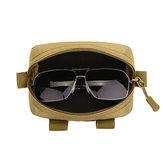 Protector Plus Men Nylon Outdoor Glasses Holder Phone Bag