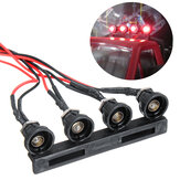 WPL C24 1/16 Head RC Car LED ضوء W / WO ضوء Seat