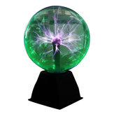 8 cali Green Light Plasma Ball Electrostatic Sterowana głosem lampa biurkowa Magic Light