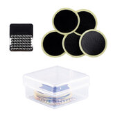 WEST BIKING Glueless Bike Tire Patch Kit 5 Pcs Patch Glue Pad+1 Pcs Metal File+1 Pcs Storage Box Bike Cycling Repair Tools