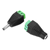 3.5 * 1.35 mm DC Power Male Female Jack Jack adaptador Conector para CCTV LED 5050 3528 5630 luz de tira