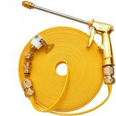 10M Hogedrukreiniger Reinigingsslang Golden Tube + Extension Water G-un +5 Connectors