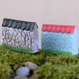 Adornos de pared de delimitación en miniatura microlandschaft jardín de bonsáis decoración bricolaje
