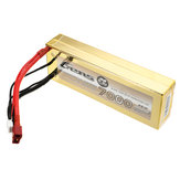 Gens Ace 7.4V 7000mAh 50C 2S Lipo Battery 4mm Banana Plug for Axial AX10 Scorpion 1/8 RC Car