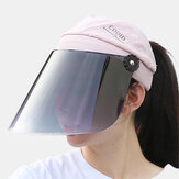 Visiera anti-UV per cappelli da sole da donna