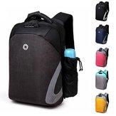 HommesSacàdosd'ordinateurportable antivol sac à dos imperméable sac à dos avec USB port de charge pour les voyages d'affaires en plein air