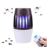 Remote Control Electronic Mosquito Killer Lamp 2 In 1 Camping LED Nigh Light Anti Repellent Fly Bug Zapper Insect Killer Pest Control