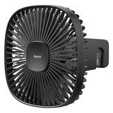 Baseus Portable USB Desktop Fan Natural Wind Magnetic Rear Seat Fan Dual Wind Speed 1000mAh Battery Capacity