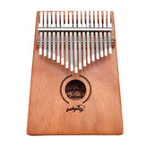 17 Keys Kalimbas African Solid Mahogany Wood Thumb Piano Finger Percussion Musical Gifts