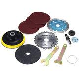10pcs Acessórios de corte de diâmetro de 10 mm para moedores de ângulo variável e brocas de mão