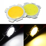 3W DIY LED COB Chip High Power Bead Light Bulb Wit / Warm Wit DC9-12V