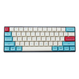 MechZone 75/133 Chaves Hawaii Keycap Set DSA Profile PBT Sublimation Keycaps para 61/64/68/104/108 Teclas Mecânico Teclados