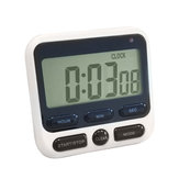 Minleaf ML-KT01 Digital Kitchen Timer Home LCD Screen Square Cooking Count Up Countdown Alarm Sleep Stopwatch