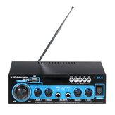 Amplificador digital estéreo de áudio AK-660 bluetooth USB FM SD Mic Home Theater carro AC 220V 110V DC 12V AMP