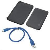 Enclosure disco rigido esterno SSD HDD SATA da 2,5 pollici USB 3.0 con storage Borsa