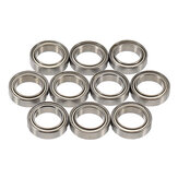 10pcs 6700ZZ 10x15x4mm Deep Groove Ball Bearings Miniature Bearing