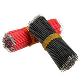 1200pcs 6cm Breadboard Jumper Cable Dupont Wire Electronic Wires Black Red Color