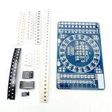 Kit de Treinamento Eletrônico DIY Componente Solda SMD