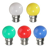 3W B22 Colorful Party 3 LED 2835 SMD Light Energiebesparende lampen Duurzame lampen AC 220V