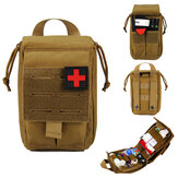 First Aid Bag Tactical Survival Waist Bag Adjustable Waterproof Emergency Bag