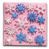 Noël gâteau moule outil moule en silicone de décoration flocon de neige fondante