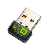 Bakeey Mini 150 Mbps Ağ Kartı Sürücüsü Ücretsiz USB WiFi Sinyal Alıcı Adaptörü Masaüstü Dizüstü PC Için