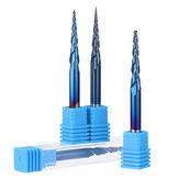 Drillpro NACO-blu R0.25 / R0.5 / R0.75 / R1.0 * 20.5 * D4 * 50 Fresa a 2 taglienti a sfera