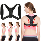 Back Posture Corrector Adjustable Back Straightener Shoulder Support Providing Pain Relief from Neck Back Shoulder
