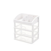 2/3 Tier Clear Makeup Box Cosmetic Organizer Table Drawer Holder Jewelry Storage Case