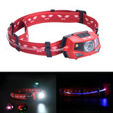 Goofy DT-7605 180 Lumens Outdoor Cycling  LED Headlamp 360 Degree Light Beam IPX4 Warning Light