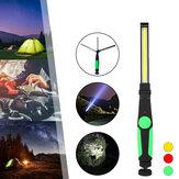410 Lumens Multifunções COB LED Lanterna Dobrável Atração Magnética USB Luz de Trabalho Recarregável