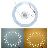 15W 5730 SMD LED Panel Circle Annular Ceiling Light Fixtures Board Lamp