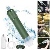 Filtre à eau extérieur système de filtration Portable paille purificateur d'eau en 2 étapes équipement de survie pour Camping randonnée escalade