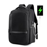 ARCTICHUNTER B00120 Laptop de 18 polegadas Bolsa Mens USB de carregamento à prova d'água Mochilas Multifuncional de grande capacidade Viagem Bolsapack Ombro dos homens Bolsa Escola Bolsa